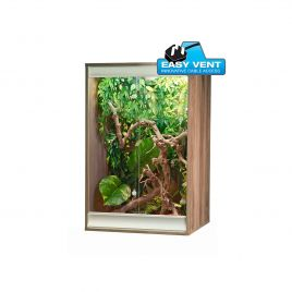 Vivexotic Viva+ Arboreal Vivarium - Small Walnut 57.5 x 49 x 91.5cm