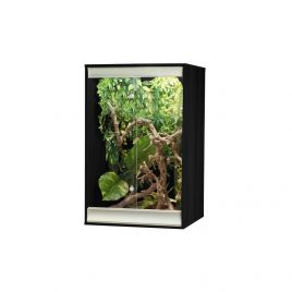 Vivexotic Viva+ Arboreal Vivarium - Small Black 57.5 x 49 x 91.5cm