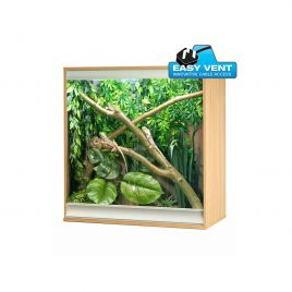 Vivexotic Viva+ Arboreal Vivarium - Medium Oak 86 x 49 x 91.5cm