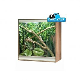 Vivexotic Viva+ Arboreal Vivarium - Medium Walnut 86 x 49 x 91.5cm