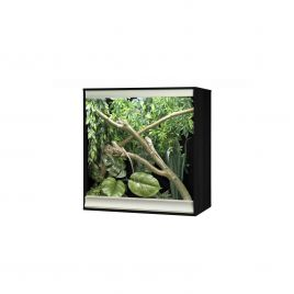 Vivexotic Viva+ Arboreal Vivarium - Medium Black 86 x 49 x 91.5cm