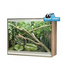 Vivexotic Viva+ Arboreal Vivarium Large-Deep Walnut 115x61x91.5cm