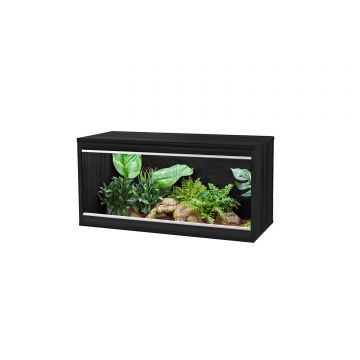 Vivexotic Repti-Home Vivarium - Medium Black 86 x 37.5 x 42cm
