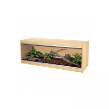 Vivexotic Repti-Home Vivarium - Large Oak 115x37.5x42cm