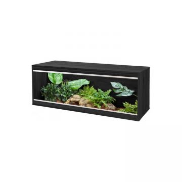 Vivexotic Repti-Home Vivarium - Large Black 115x37.5x42cm