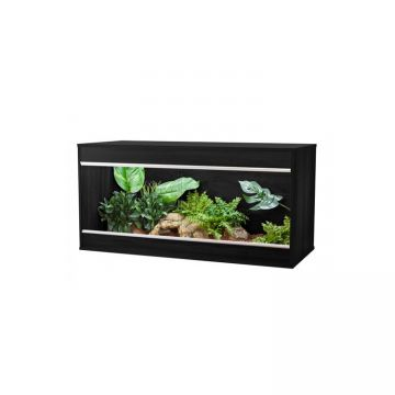 Vivexotic Repti-Home Vivarium - Maxi Large Black 115x49x56cm