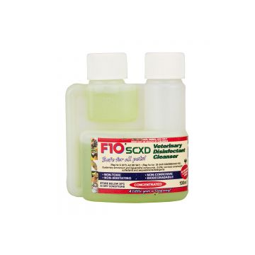 F10 SCXD Veterinary Disinfectant Cleanser 200ml