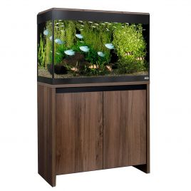 Fluval Roma LED 125 Aquarium and Cabinet - Walnut