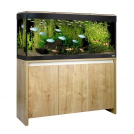 Fluval Roma LED 240 Aquarium and Cabinet - Oak