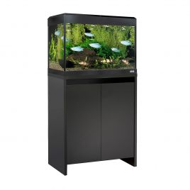 Fluval Roma LED 90 Aquarium and Cabinet - Black