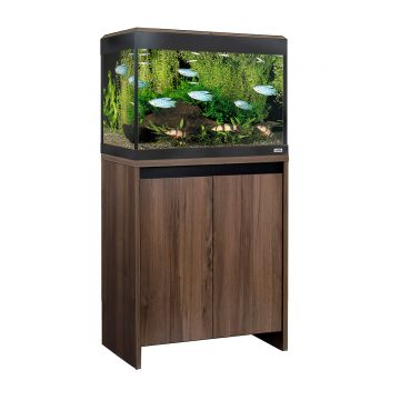 Fluval Roma LED 90 Aquarium and Cabinet - Walnut