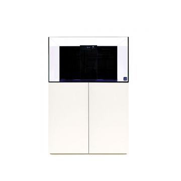 TMC Reef Habitat 90 Aquarium and Cabinet (Gloss White)