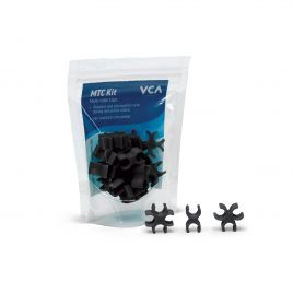Vivid Creative Multi Tube Clips - Lava Rock Black