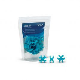 Vivid Creative Multi Tube Clips - Aqua Blue