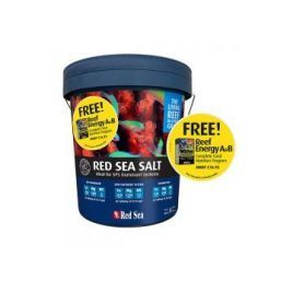 Red Sea Salt 22kg - with FREE Reef Energy A+B
