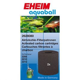 Eheim 2208-12 Aquaball Carbon Filter Cartridge (x2)