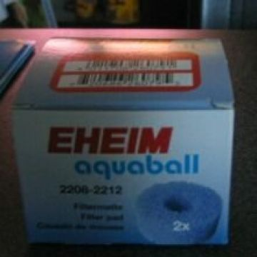 Eheim 2208-12 Aquaball Coarse Filter Cartridge (x2)