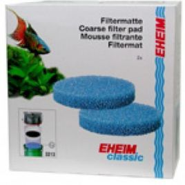Eheim 2213/250 Coarse Filter Pad (Blue) (x2)