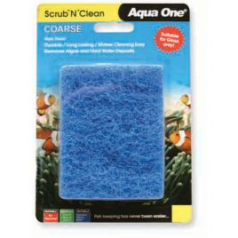 Aqua One Scrub and Clean Large Coarse Pad