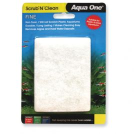 Aqua One Scrub and Clean Small Fine Pad
