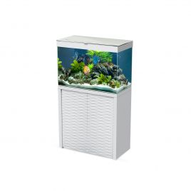 Ciano Emotions One 80 Aquarium and Cabinet - White