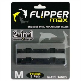 Flipper Max Replacement Stainless Steel Blades (x2)