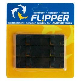 Flipper Cleaner Replacement Plastic Blades (x3)