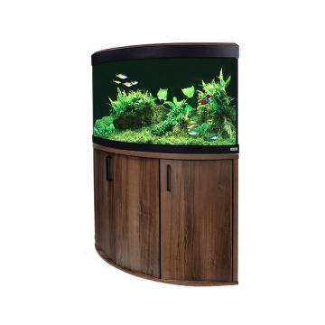 Fluval Venezia 190 LED Aquarium - Walnut