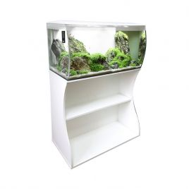 Fluval Flex 123L Aquarium and Cabinet (White)