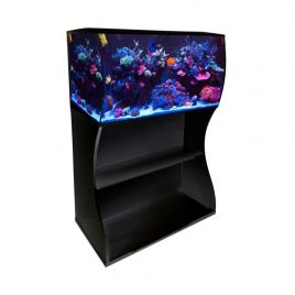 Fluval Flex 123L Marine and Cabinet - Black