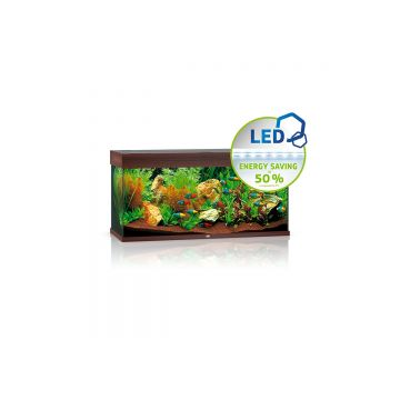 Juwel Rio 180 LED Aquarium (Dark Wood)