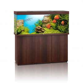 Juwel Rio 450 LED Aquarium And Cabinet (Dark Wood)