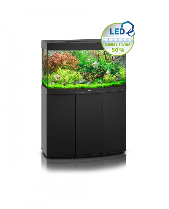 Juwel Vision 180 LED Aquarium and Cabinet (Black)