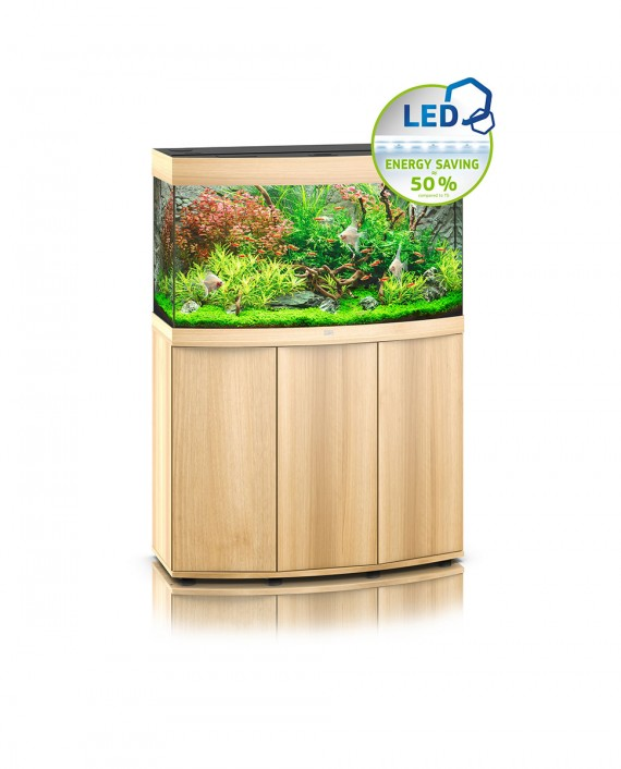 Juwel Vision 180 LED Aquarium and Cabinet (Light Wood)