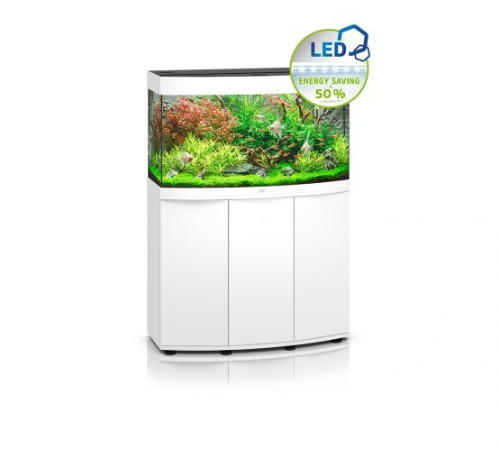 Juwel Vision 180 LED Aquarium and Cabinet (White)