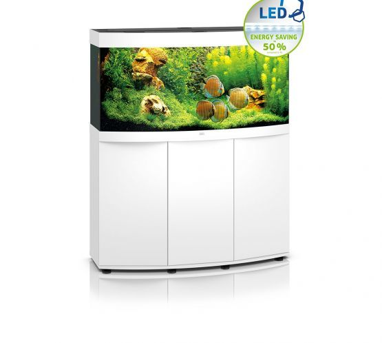 Juwel Vision 260 LED Aquarium and Cabinet (White)
