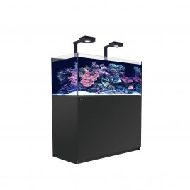 Red Sea Reefer XL 425 Deluxe Aquarium (Black) - 2 x ReefLED 160S