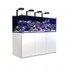 Red Sea Reefer XXL 750 Deluxe Aquarium (White) (V3) 4 x ReefLED 90