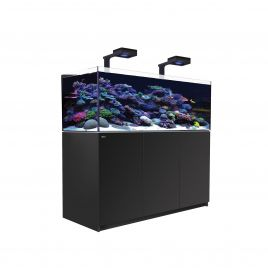 Red Sea Reefer XL 525 Deluxe Aquarium (Black) 2 x ReefLED 160S