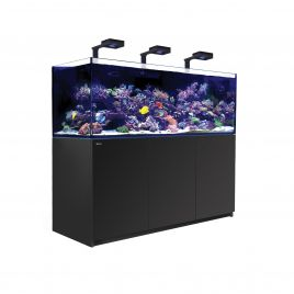 Red Sea Reefer XXL 750 Deluxe Aquarium (Black) (V3) 3 x ReefLED 160S