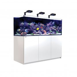 Red Sea Reefer XXL 750 Deluxe Aquarium (White) (V3) 3 x ReefLED 160S