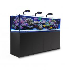 Red Sea Reefer 3XL 900 Deluxe Aquarium (Black) 3 x ReefLED 160S