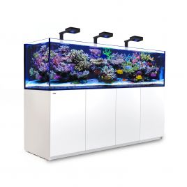 Red Sea Reefer 3XL 900 Deluxe Aquarium (White) 3 x ReefLED 160S