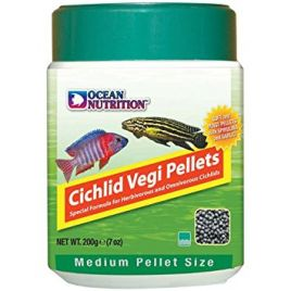 Ocean Nutrition Cichlid Vegi Medium Pellets (200g)