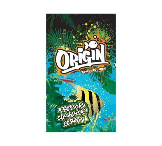 Origin Aquatic Nutrition Tropical Community Formula (0.5-0.8mm) 250g
