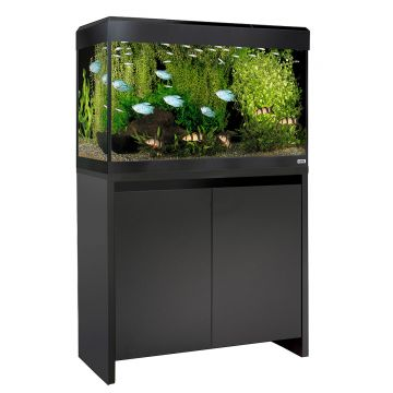 Fluval Roma LED 125 Aquarium and Cabinet - Black