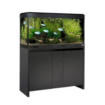 Fluval Roma LED 200 Aquarium and Cabinet - Black