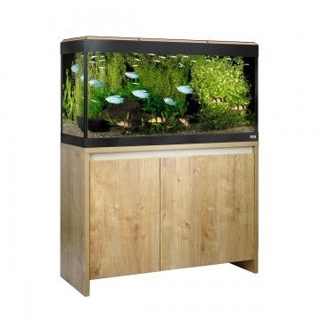 Fluval Roma LED 200 Aquarium and Cabinet - Oak