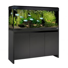 Fluval Roma LED 240 Aquarium and Cabinet - Black