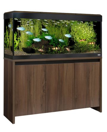 Fluval Roma LED 240 Aquarium and Cabinet - Walnut